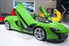 MCLAREN super samochody w samochód wystawie Zdjęcie Stock