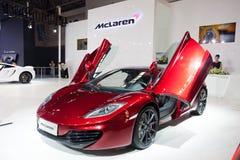 McLaren supercar Στοκ Φωτογραφία