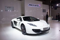 McLaren supercar. September 10, 2009 for McLaren (McLaren) special significance, with rival Ferrari after they (Ferrari) launched supercar, will again compete Stock Image