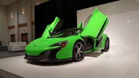 McLaren verde Imagenes de archivo