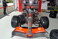 McLaren Vodafone Mercedes Stock Images