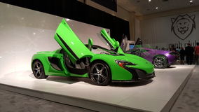 套McLarens 库存照片
