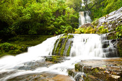 McLean Falls in the Catlins Stock Photos