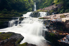 McLean Falls in The Catlins region of New Zealand Stock Image