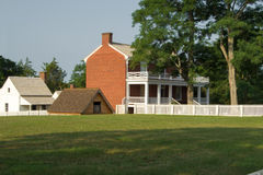 Mclean House - Appomattox Court House National Historical Park Royalty Free Stock Images
