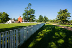 McLean House at Appomattox Court House National Park Royalty Free Stock Photography