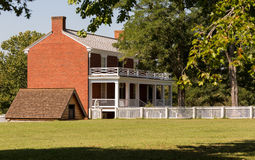 McLean House at Appomattox Court House National Park stock photos