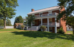 McLean House at Appomattox Court House National Park Stock Image