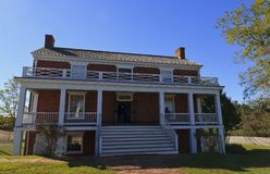 McLean House Front View Stock Photos