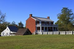 McLeanhuis in Appomattox Stock Foto's