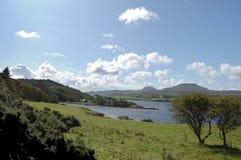 Mcleods Tabellen und Dunvegan Loch Lizenzfreie Stockbilder