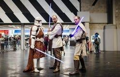 MCM de Cosplay Birmingham de Star Wars photos libres de droits