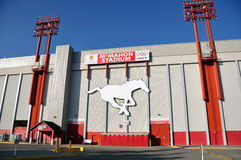 McMahon Stadium Royalty Free Stock Photo