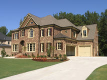McMansion luxuoso 3 Imagem de Stock Royalty Free