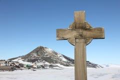 McMurdo station, Ross Island, Antarctica Stock Image
