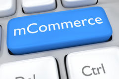 MCommerce concept Royalty Free Stock Images