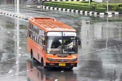 74 MCOT PCL - KhlongTeoy bussbil Arkivfoto