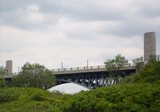 McQuesten高级桥梁 库存图片