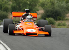 McRae GM1 F5000 Rennwagen Stockfotos
