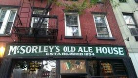 McSorley Ale Stary dom Fotografia Stock