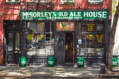 McSorleys altes Ale House Stockbild