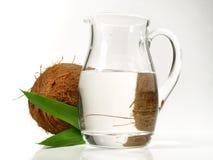 MCT-Olie - Gezonde Voeding stock fotografie
