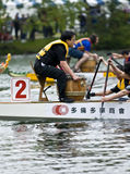 MCVA Dragon Boat racing at the21st TELUS Royalty Free Stock Photography