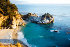 McWay Fall. Located in Julia Pfeiffer Burns State Park, California Royalty Free Stock Photography