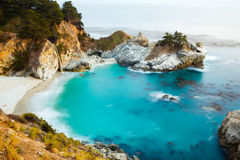 McWay Fall. Located in Julia Pfeiffer Burns State Park, California Royalty Free Stock Images