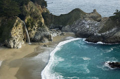 McWay Falls. Big Sur, Julia Pfeiffer Burns State Park Stock Photography