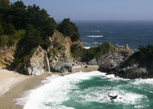 McWay Falls. On the central California coast Royalty Free Stock Photography
