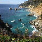 Mcway falls area. Scene near mcway falls highway Stock Photos