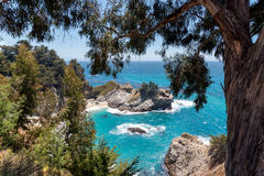 McWay Falls, Big Sur, CA Royalty Free Stock Photography