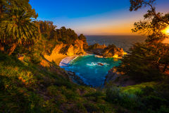 McWay Falls Big Sur California Stock Image