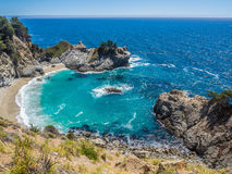 McWay Falls, Big Sur on Highway1 Stock Images