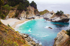 McWay Falls in Big Sur Royalty Free Stock Photo