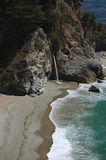 McWay Falls at Julia Pfeiffer Burns State Park,California Royalty Free Stock Photos