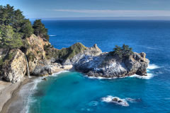McWay Falls at Julia Pfeiffer State Park Royalty Free Stock Images