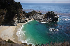McWay Falls Overlook. McWay Falls along Highway 1 Stock Photography