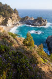 Mcway falls - Pacific coast highway iwth wild flow Royalty Free Stock Photo