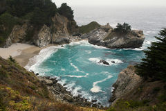 McWay Falls. A photo of McWay Falls in Big Sur, California Stock Images