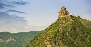 Mcxeta Христианский монастырь в Georgia стоковое изображение