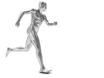 mężczyzna bieg Zdjęcie Royalty Free