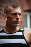 mężczyzna mięśniowy Obraz Royalty Free