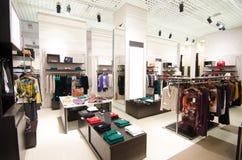 Mężczyzna mody sklep Obraz Stock