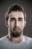 Mężczyzna płacz Zdjęcia Royalty Free