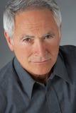 mężczyzna portreta seniora studio Zdjęcie Royalty Free
