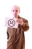 mężczyzna smutny Fotografia Stock
