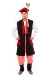 mężczyzna stroju połysk tradycyjny Obraz Royalty Free