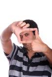 mężczyzna target604_0_ Obrazy Stock